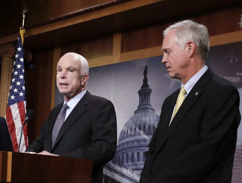 John McCain, Ron Johnson
