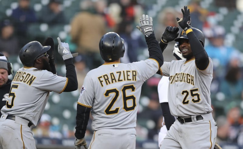 Gregory Polanco, Adam Frazier, Josh Harrison