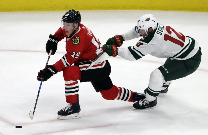 Jonathan Toews, Eric Staal
