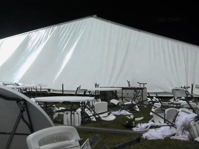 12 Hospitalized After Alabama Tent Collapse