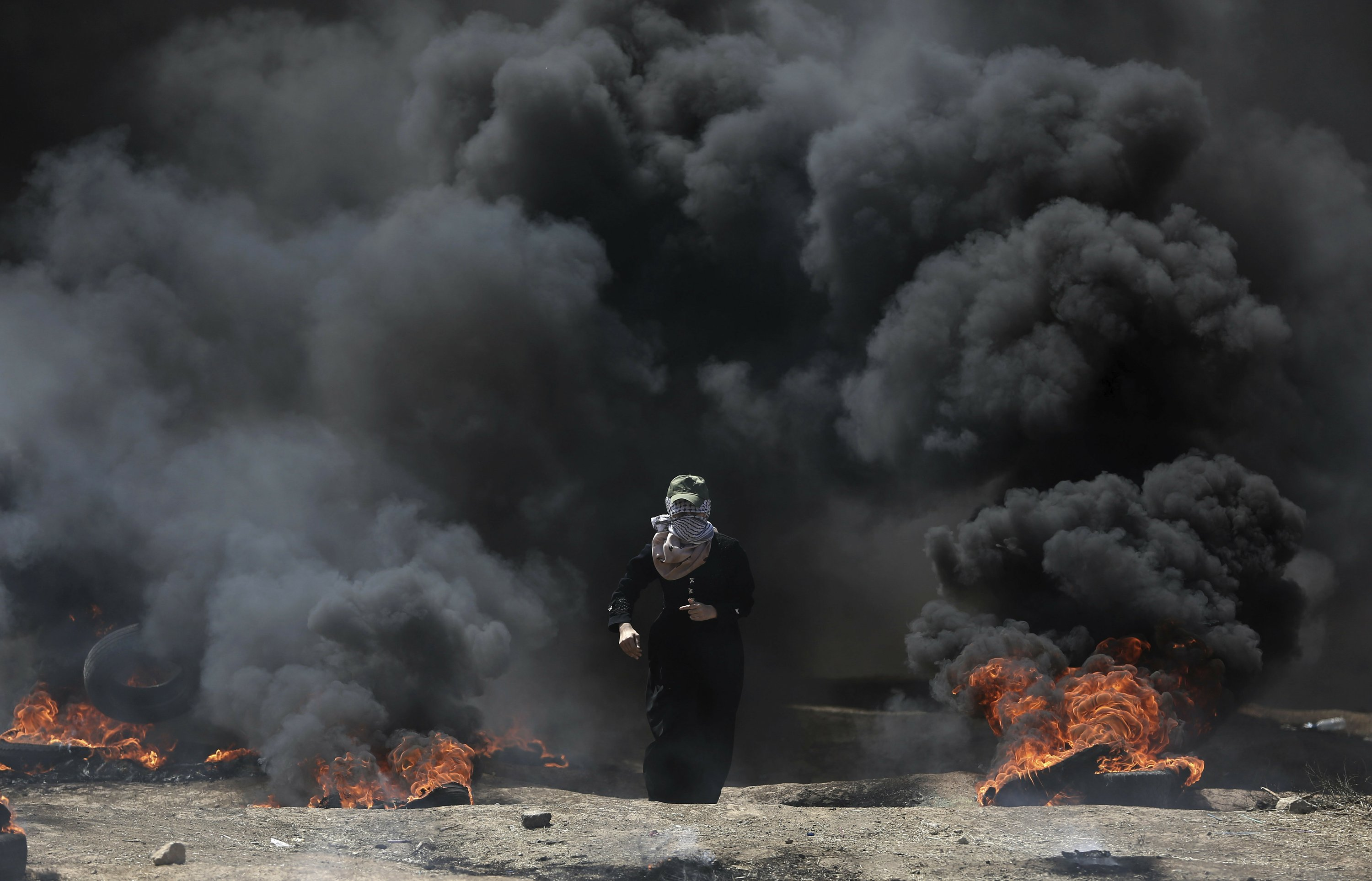 58 dead in Gaza protests as Israel fetes US Embassy move