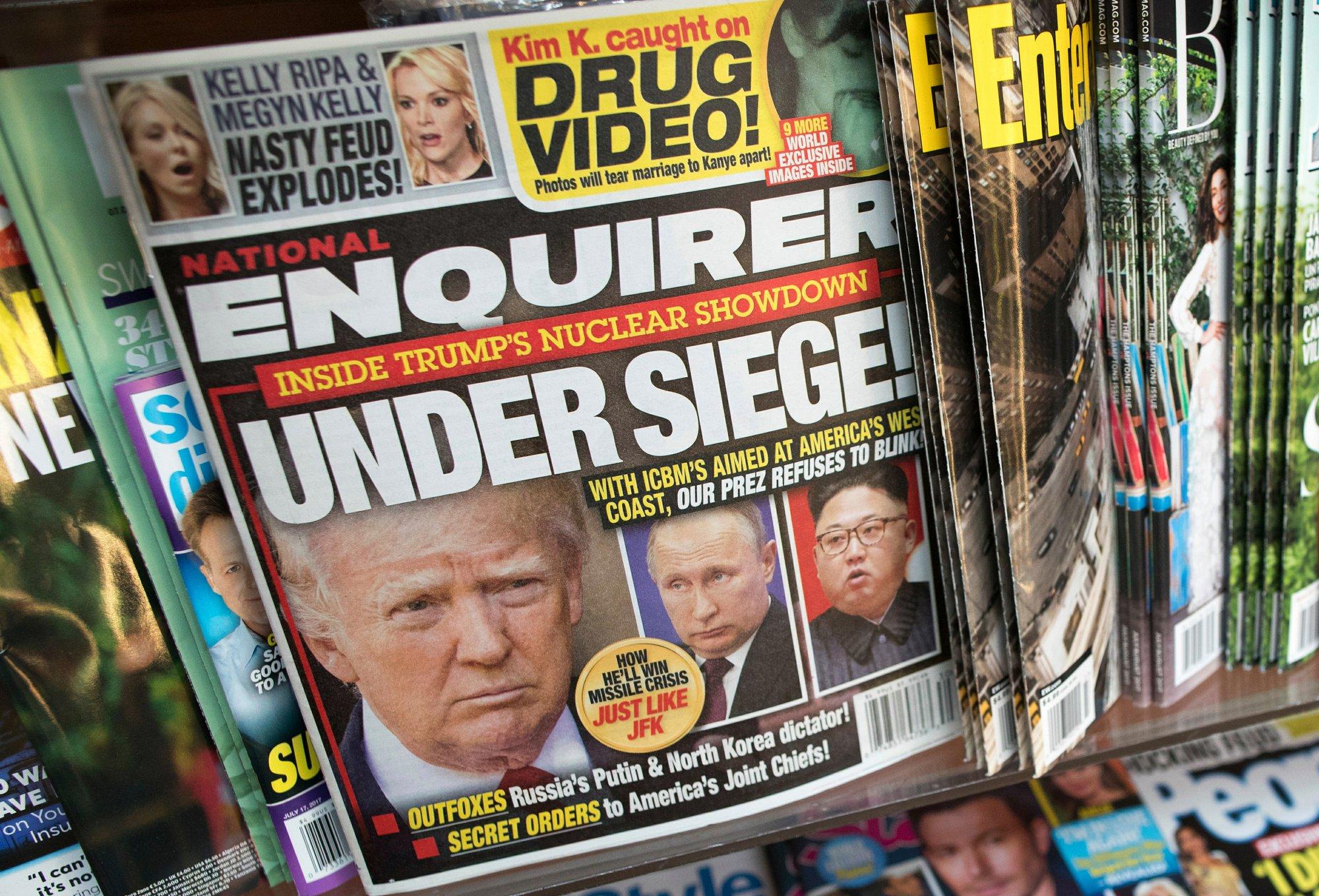 Trump-friendly tabloid sees a decline in circulation