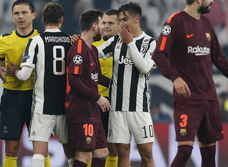 Barcelona Draws 0 0 At Juventus To Seal Top Spot In Group