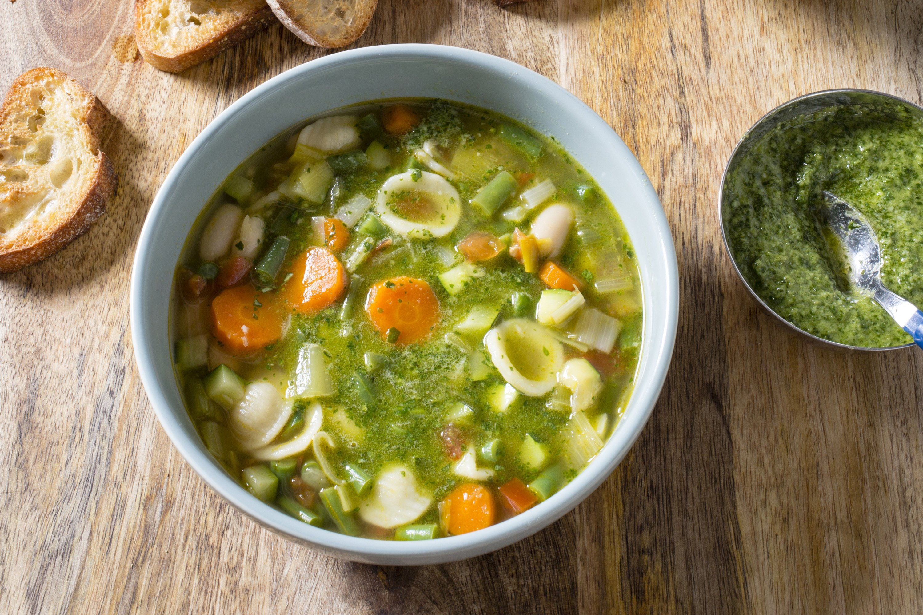 Try a classic French soup celebrating seasonal vegetables