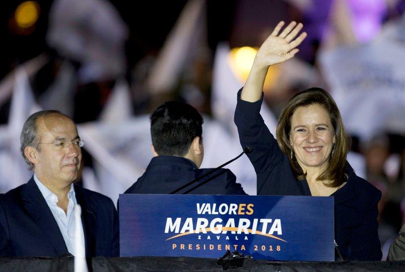 Margarita Zavala, Felipe Calderon