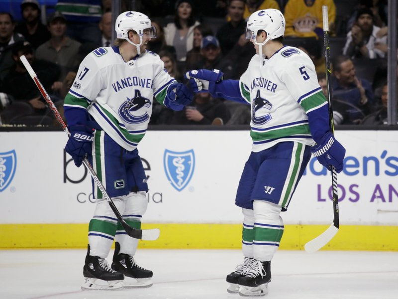 Baertschi Canucks Send La Kings To 3rd Straight Loss 3 2