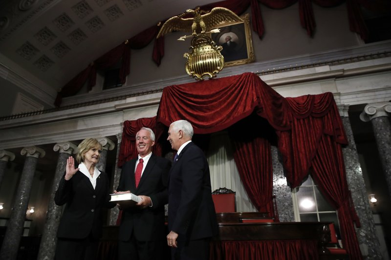Cindy Hyde-Smith, Mike Pence, Michael Smith