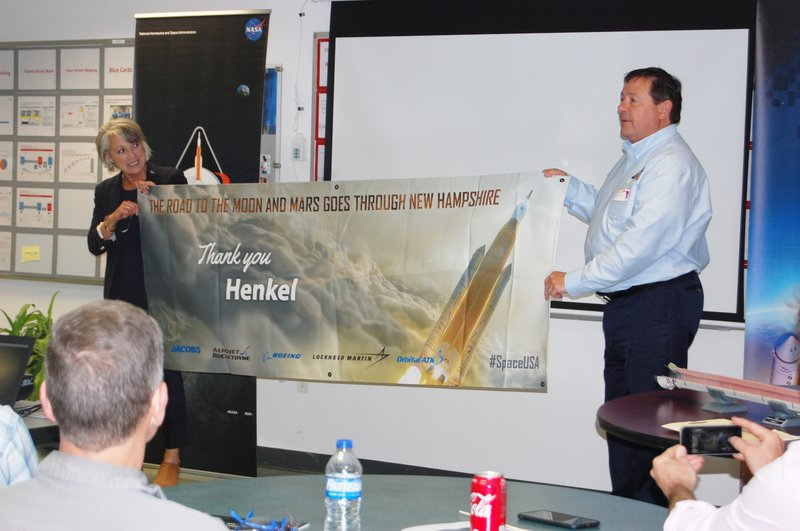 NASA and partners visit Henkel adhesive technologies site