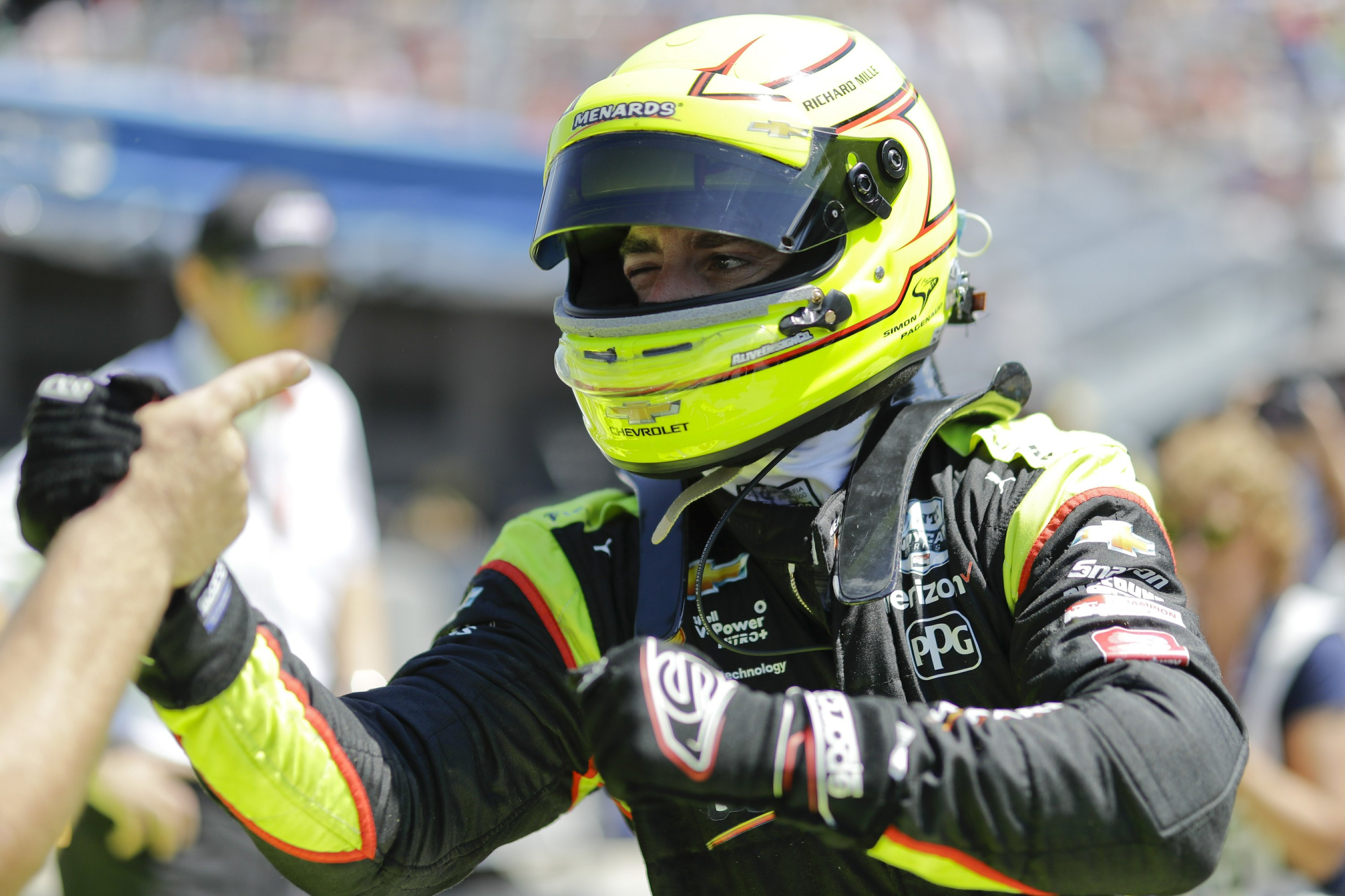 The Latest: Pagenaud fights for job by winning Indy 500 pole