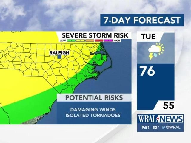 What's ahead: Warmer days, chance for severe weather this week