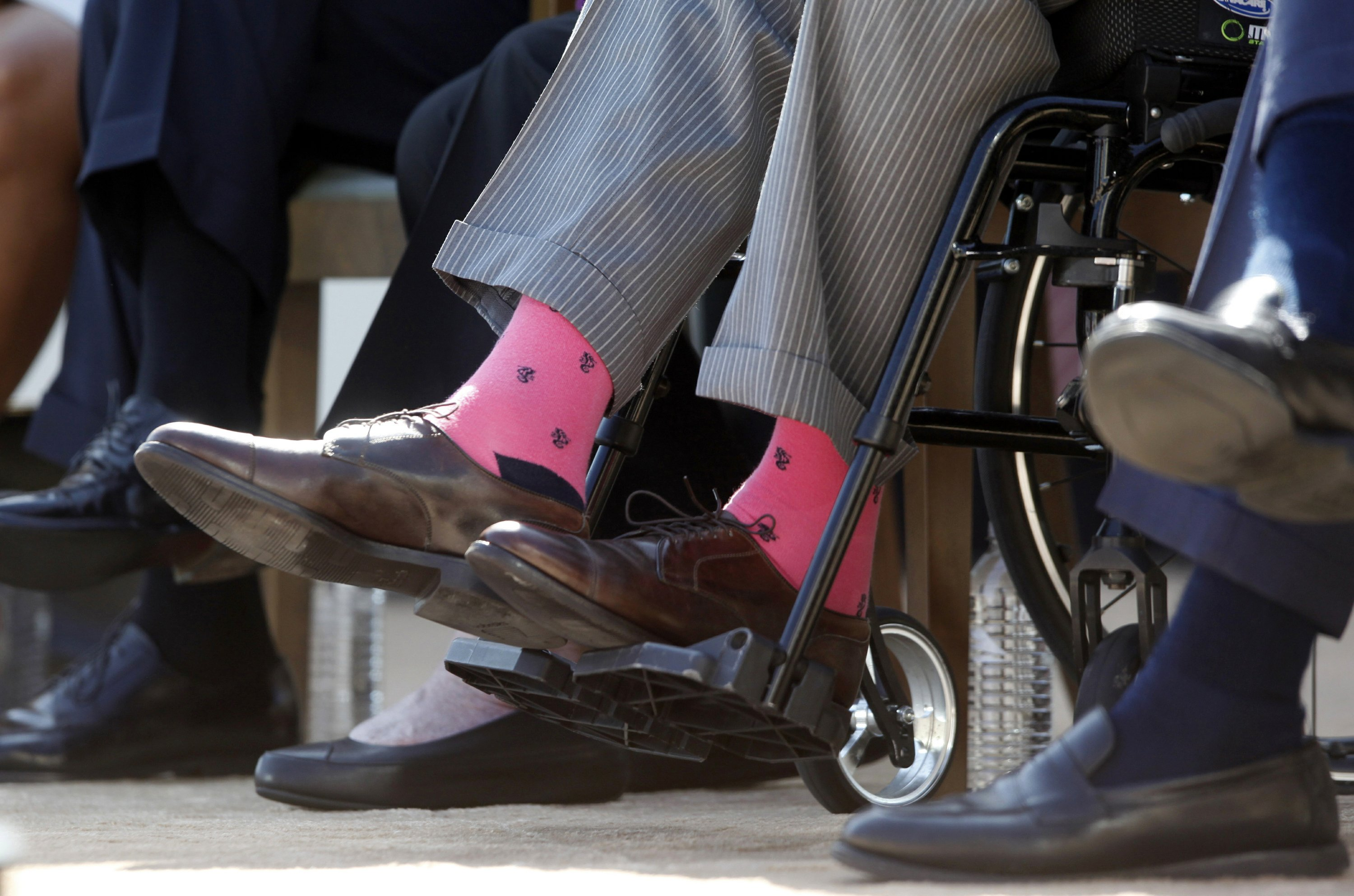 Not just a fashion statement: Bush's socks spoke volumes