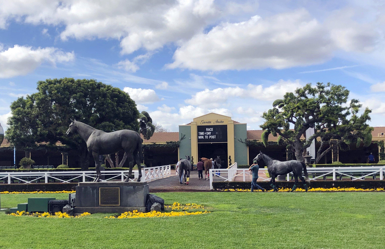 Horse deaths put Santa Anita under scrutiny on big race day