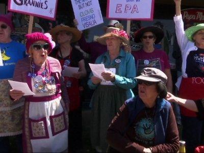 CA Constituents Protest Nunes Amid Russia Probe