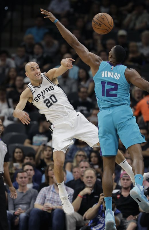 Manu Ginobili, Dwight Howard