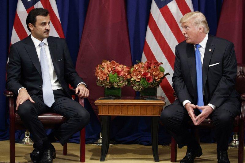 Donald Trump, Emir Sheikh Tamim Bin Hamad Al Thani