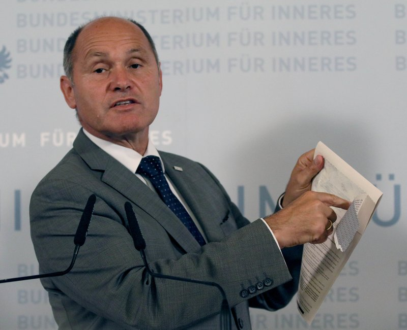 Austria postpones presidential vote due to faulty ballots