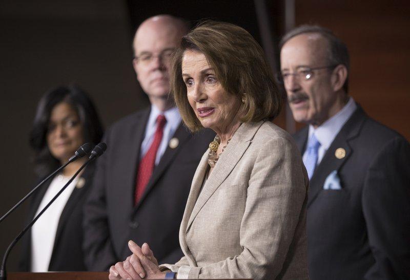 Nancy Pelosi, Pramila Jayapal, James P. McGovern, Eliot Engel