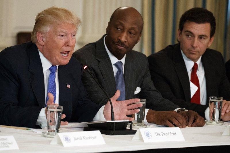 Donald Trump, Kenneth Frazier, Mark Fields