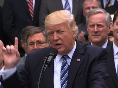 Trump Welcomes Jubilant GOP to White House