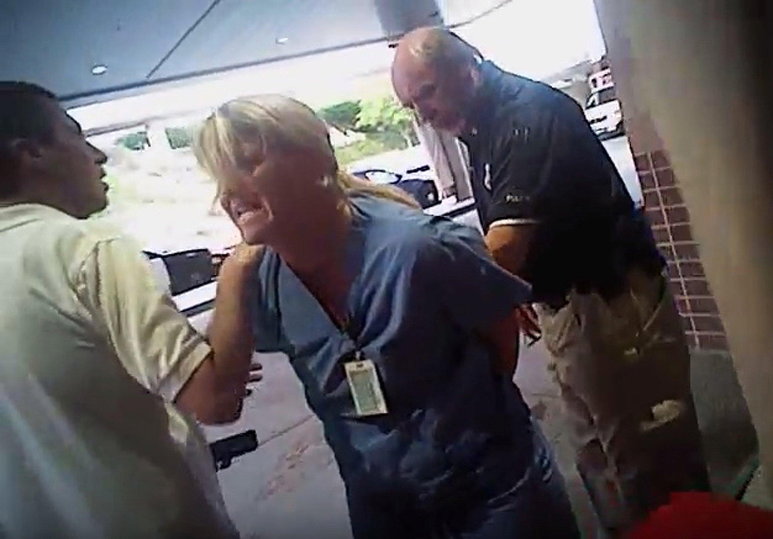 Utah officer fired after nurse's arrest caught on video