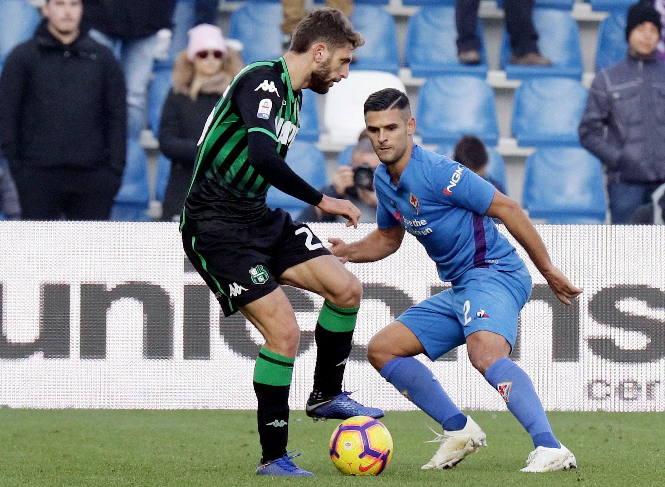 Mirallas scores late as Fiorentina draws 3-3 at Sassuolo