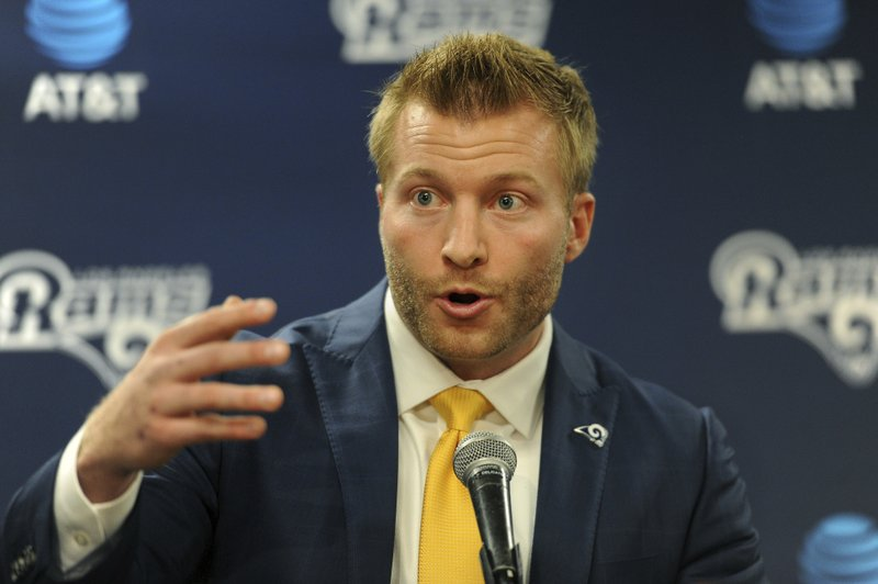 Young Mcvay Brings Energy Passion To Coaching Job With Rams