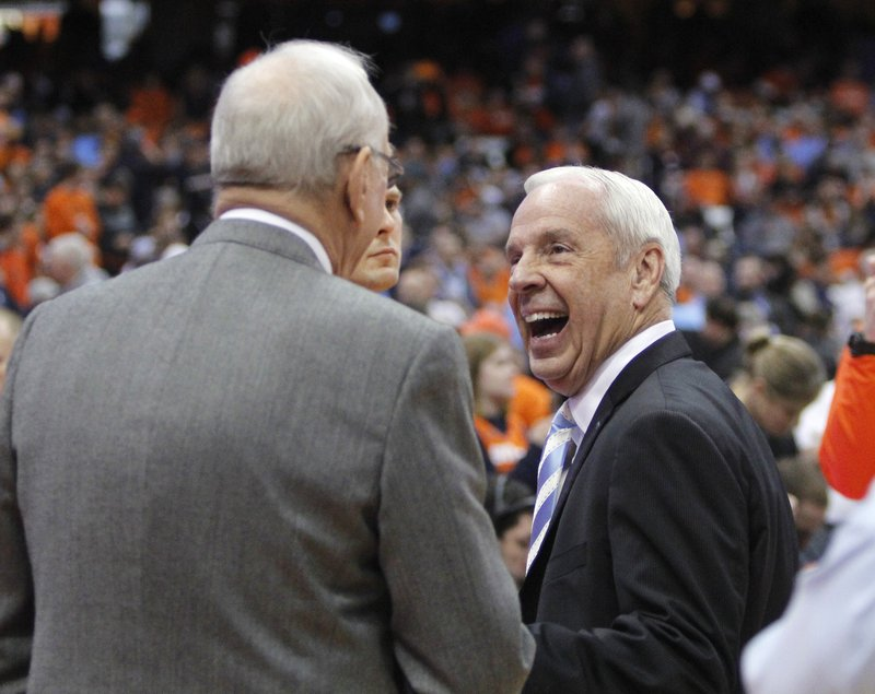Roy Williams, Jim Boeheim