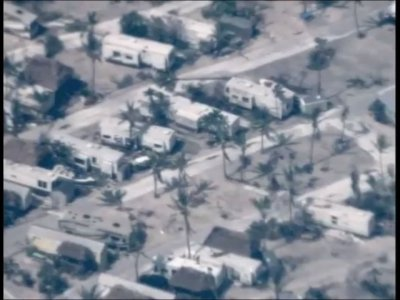 Exclusive: Drone Over Fla Keys Shows Devastation