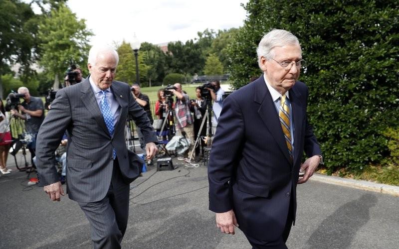 The Latest Mcconnell Says Good Progress Made On Health Bill