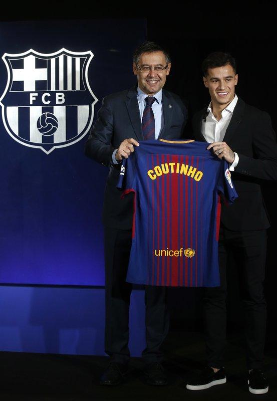 Philippe Coutinho, Josep Maria Bartomeu