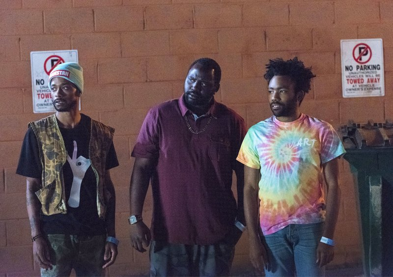 Lakeith Stanfield, Brian Tyree Henry, Donald Glover