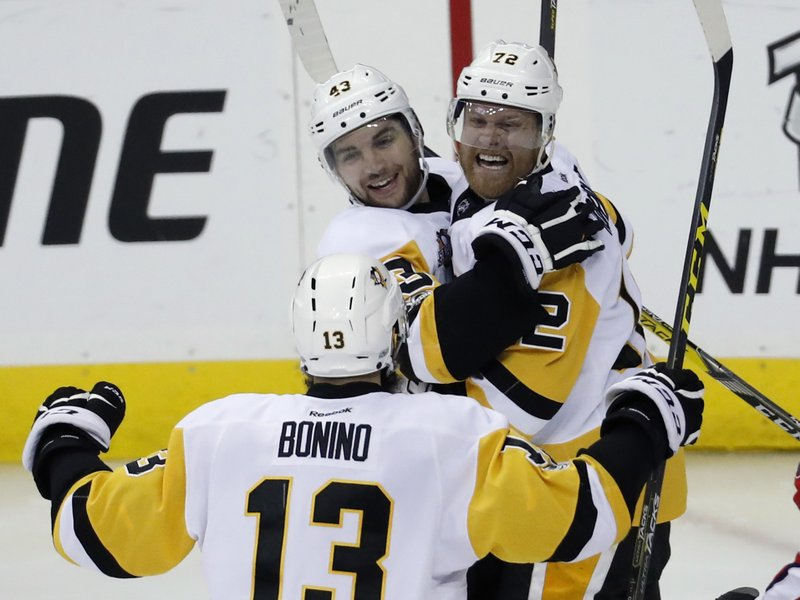 Conor Sheary, Patric Hornqvist, Nick Bonino