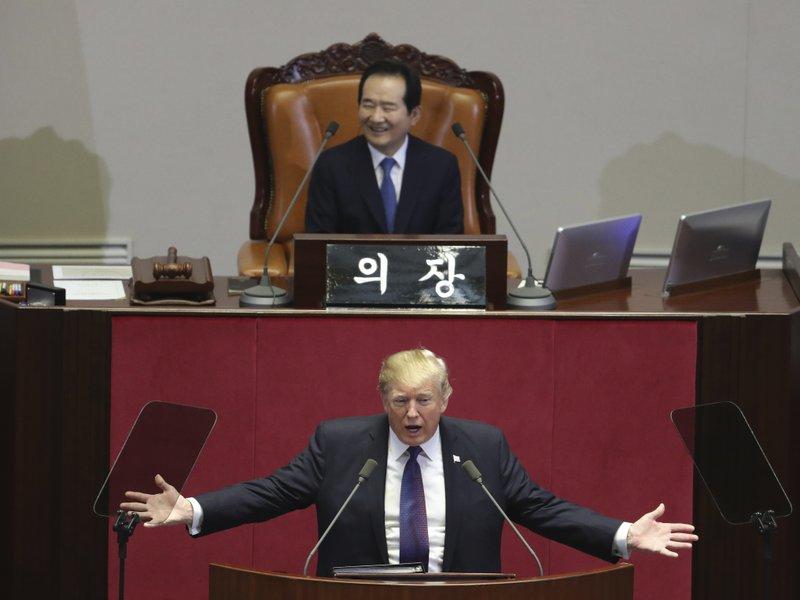 Donald Trump, Chung Sye-kyun