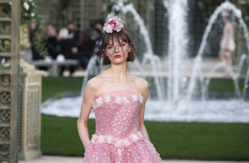 6f22a384762bee Chanel's garden delights as Givenchy designer debuts couture