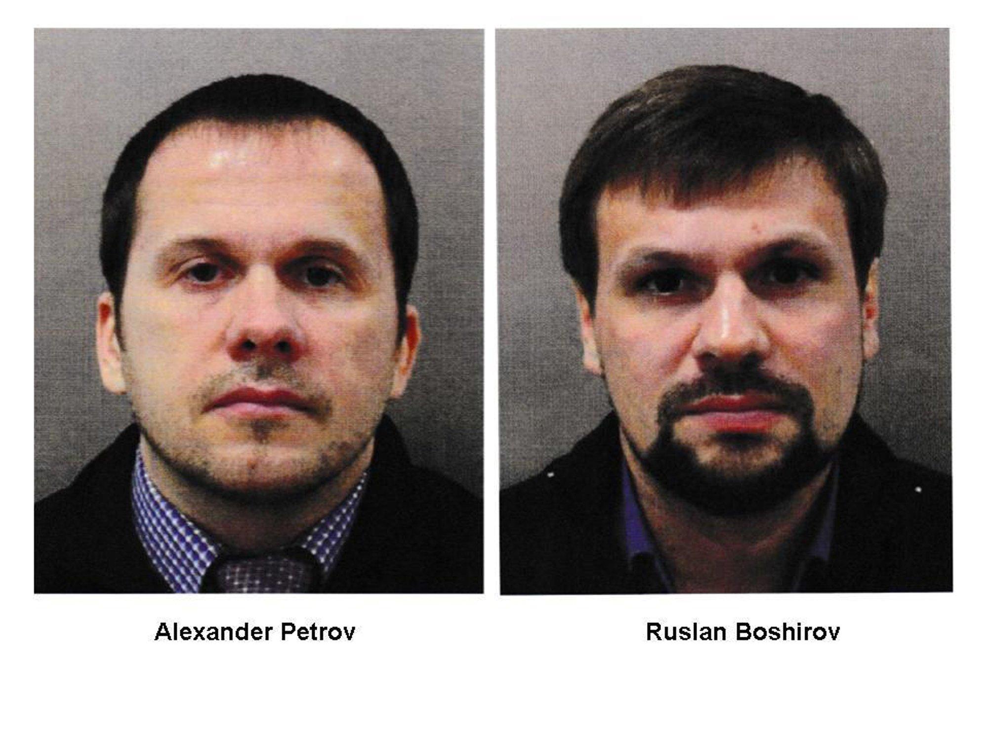 Petrov, Boshirov, Colonel Chepiga. And who do you actually believe 1
