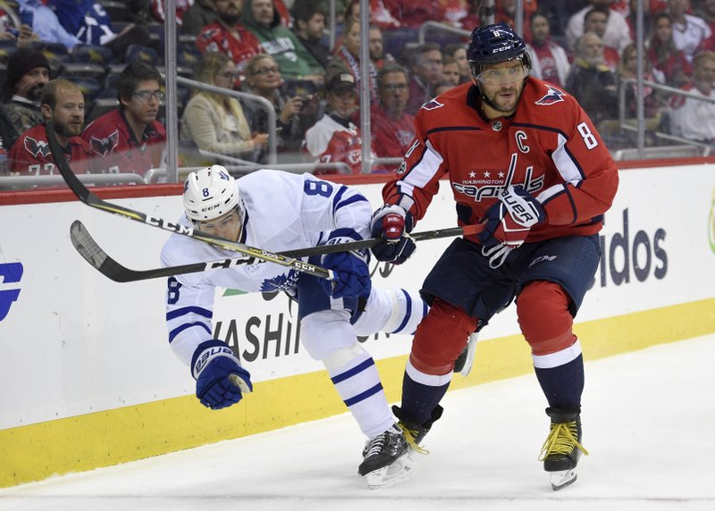 Alex Ovechkin, Connor Carrick