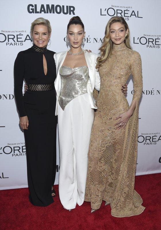 Yolanda Hadid, Bella Hadid, Gigi Hadid