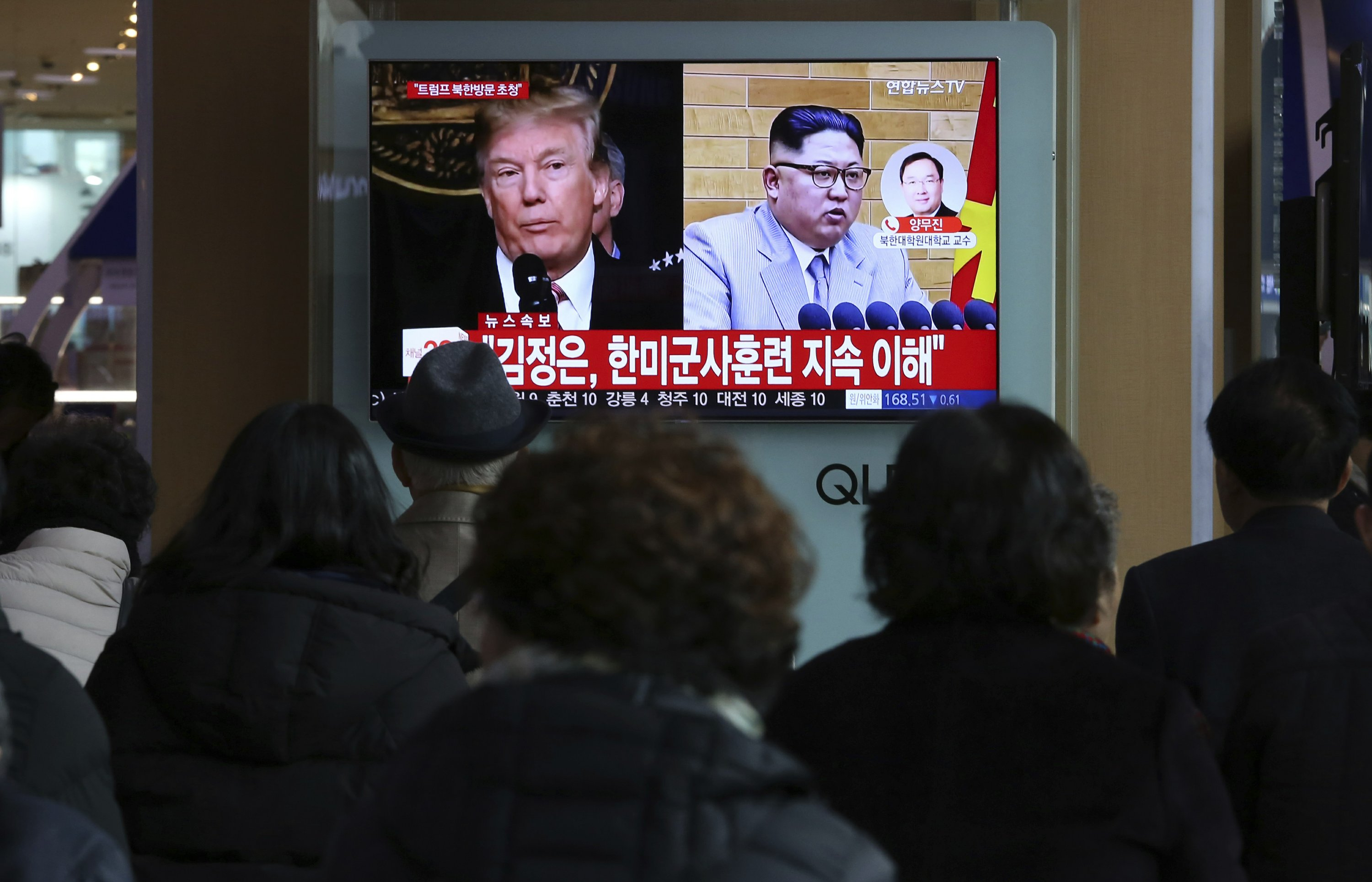 US officials: No more conditions imposed on NKorea for talks
