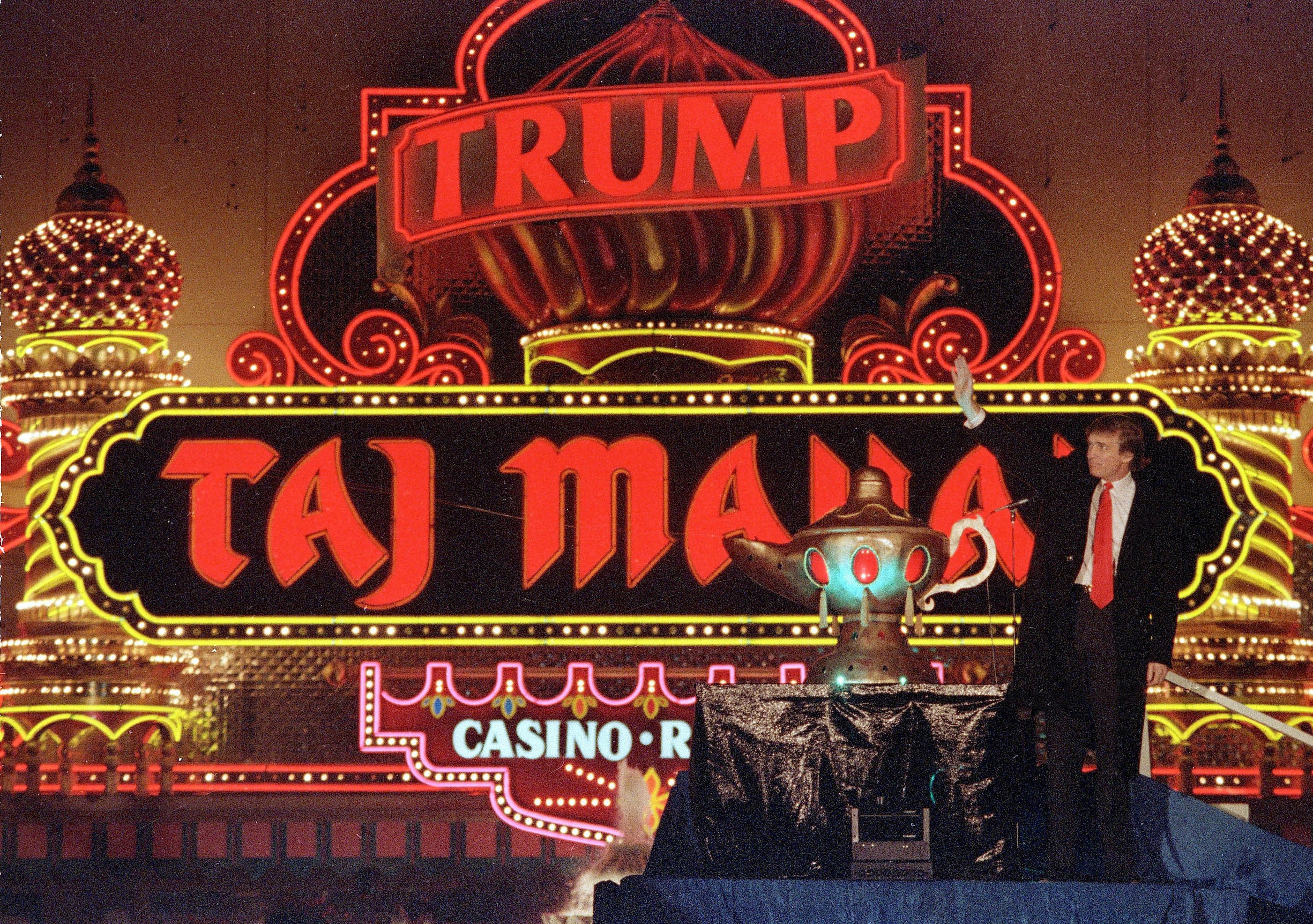 Little guy' contractors still angry at Trump Taj bankruptcy