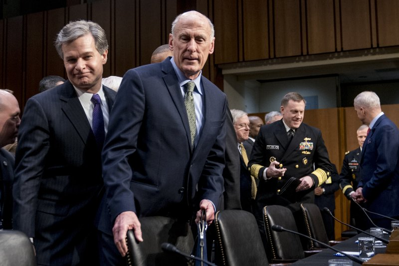 Dan Coats, Christopher Wray