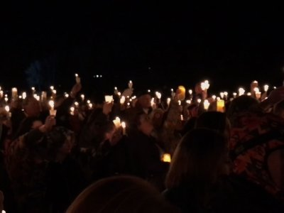 Hundreds Gather for Vigil After School Shooting