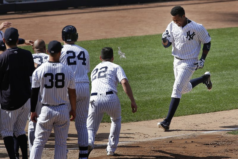 the best attitude 60430 c712e Castro's walkoff homer leads Yankees to 9-8 win over Rockies