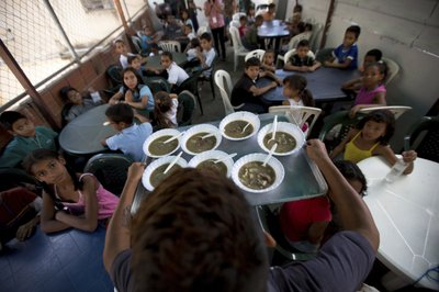 Venezuela\'s opposition reinvents itself with soup kitchens