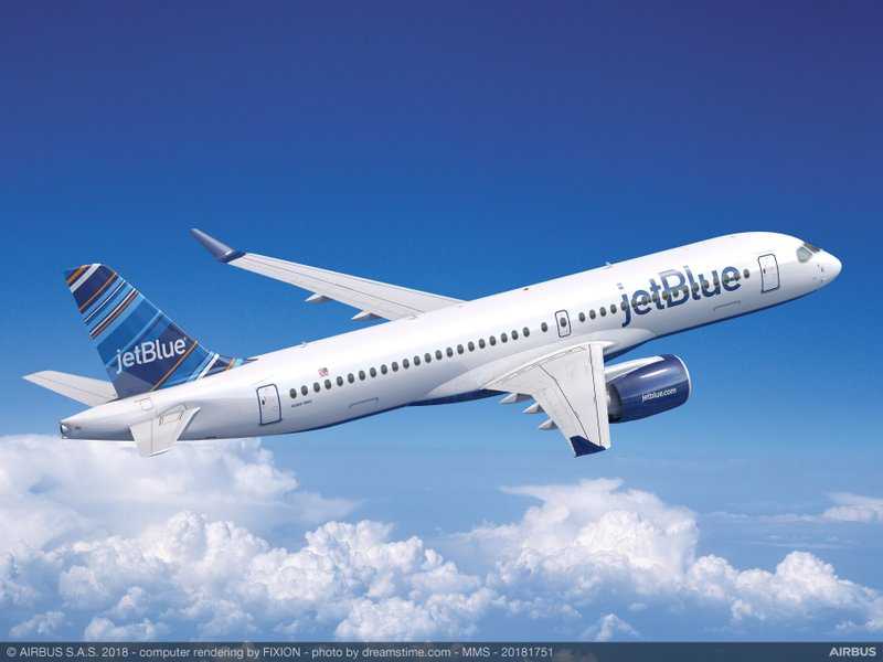 JetBlue Selects Airbus A220-300 as Key Component of Its Next Generation Fleet