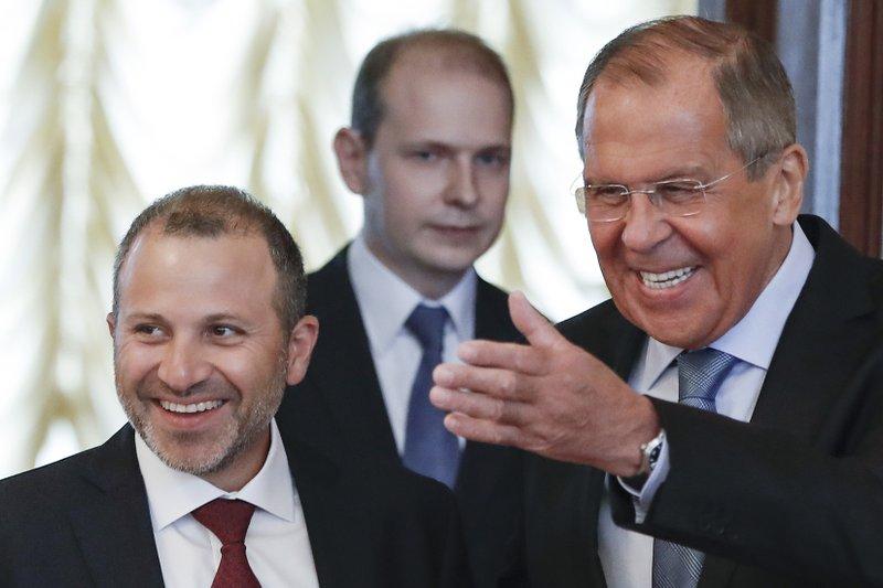 Sergei Lavrov, Gebran Bassil