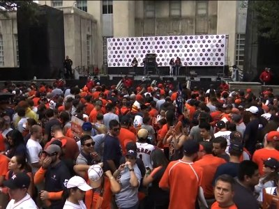 Houston Ready to Celebrate Astros Historic Win