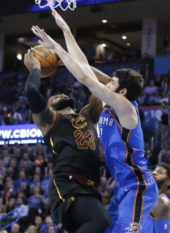 LeBron James, Alex Abrines