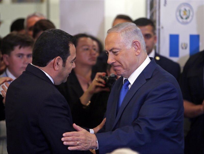 Benjamin Netanyahu, Jimmy Morales