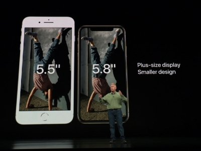 Apple unveils biggest iPhones yet