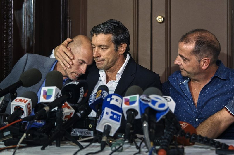 Juan Pablo Trevisan, Ivan Brajkovic, Guillermo Banchini